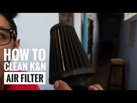 How to clean K&N air filter | K&N maintainence | R1100