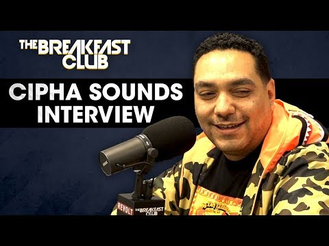Cipha Sounds On His Radio Career, Breaking Into Comedy, Brea