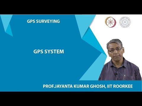 Week 01 - Lecture 02 (GPS System)
