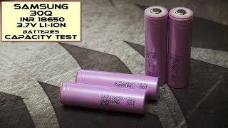 Samsung 30Q 18650 3000mAh - Capacity Test