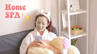self care at home : DIY Facial // praktis & auto glowing ✨
