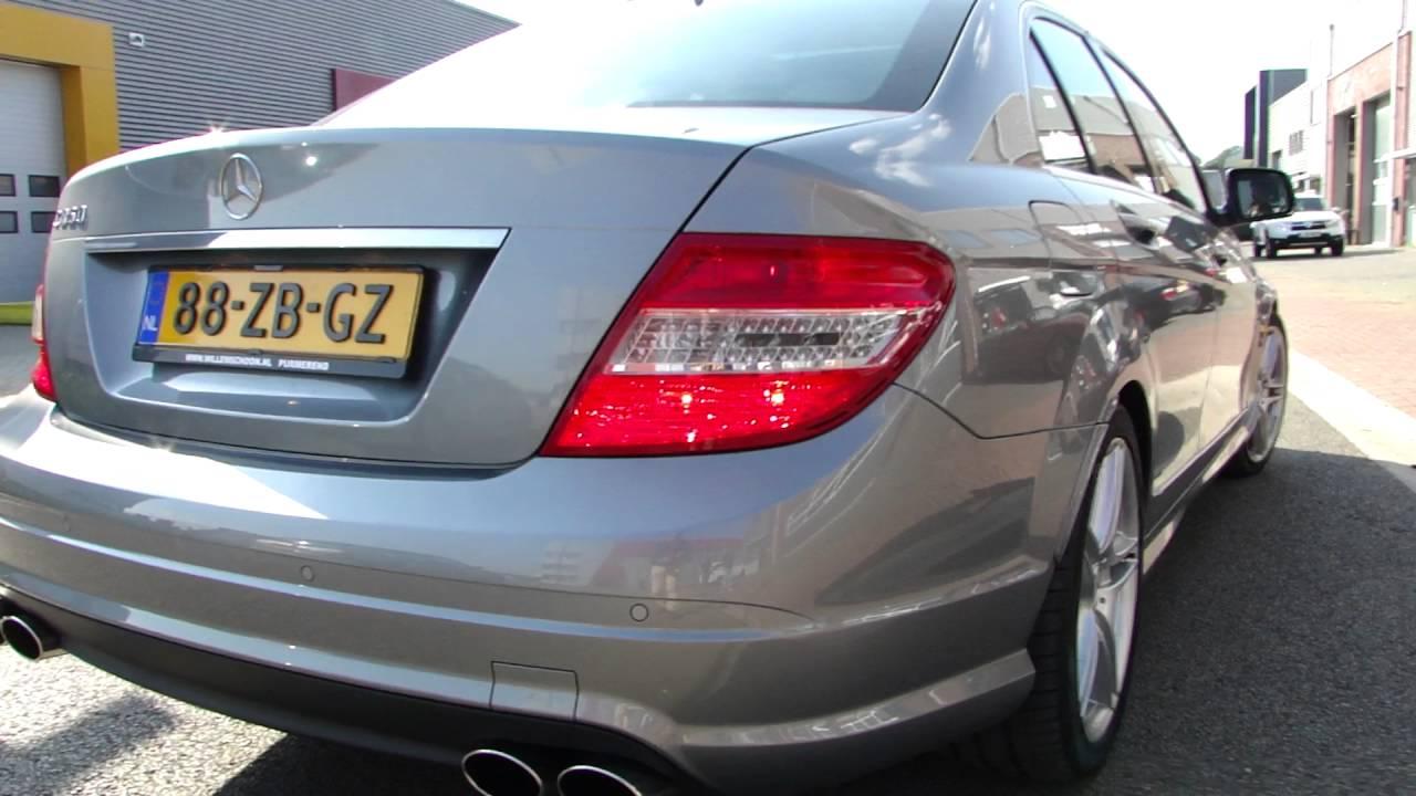 Mercedes W204 C350 Duplex Exhaust System Sportuitlaat Uitlaat By