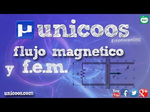FISICA Flujo magnético y fem BACHILLERATO