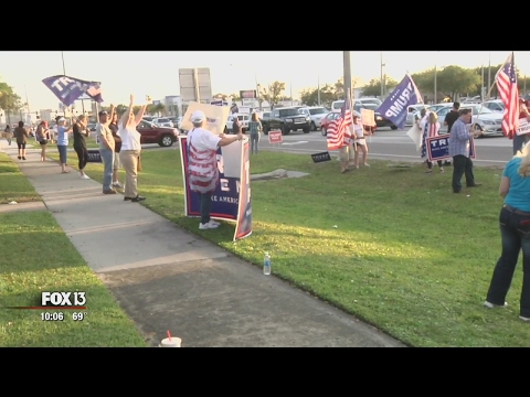 Tampa rally shows support for President Trump