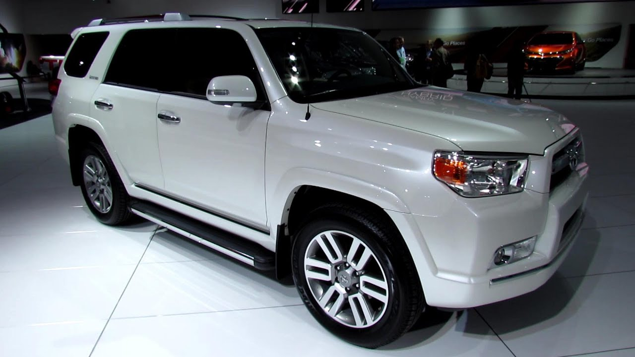 2013 Toyota 4runner Limited Exterior And Interior Walkaround 2013 Detroit Auto Show Youtube