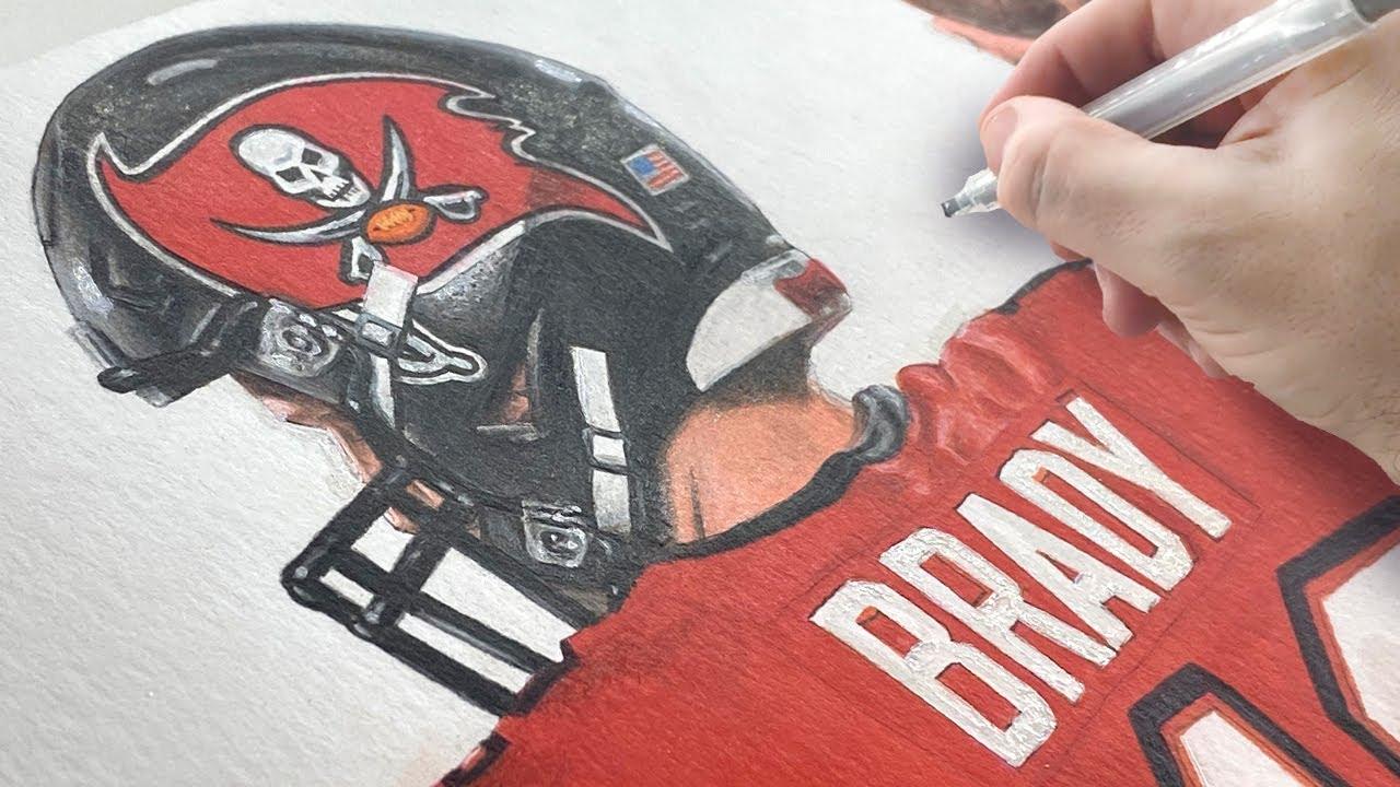How to Draw Tom Brady in a Realistic Style