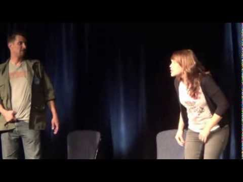 Improv with ARCHER's Lucky Yates and Amber Nash at Geek Media Expo vol 5 part 1
