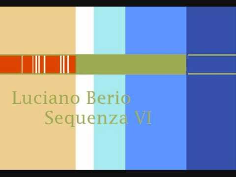 Luciano Berio Sequenza VI Chemins II Chemins III