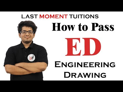 How to Pass Engineering Drawing |First Year Engineering | Engineering Drawing Importance