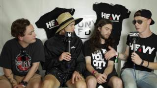 Ocean Grove Interview @ UNIFY 2017 - HEAVY TV Interviews