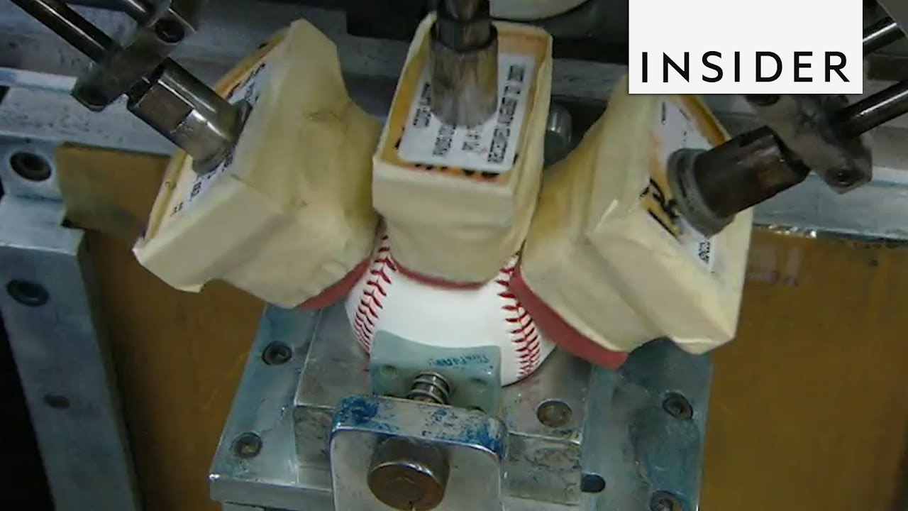 How Baseballs Are Made - YouTube