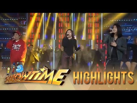 It's Showtime: Karylle, Gloc 9, and JKris perform an OPM treat for the madlang people