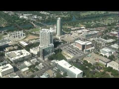 Downtown Austin Condo Helicopter Tour Austonian Spring 360 Monarch & W Hotel