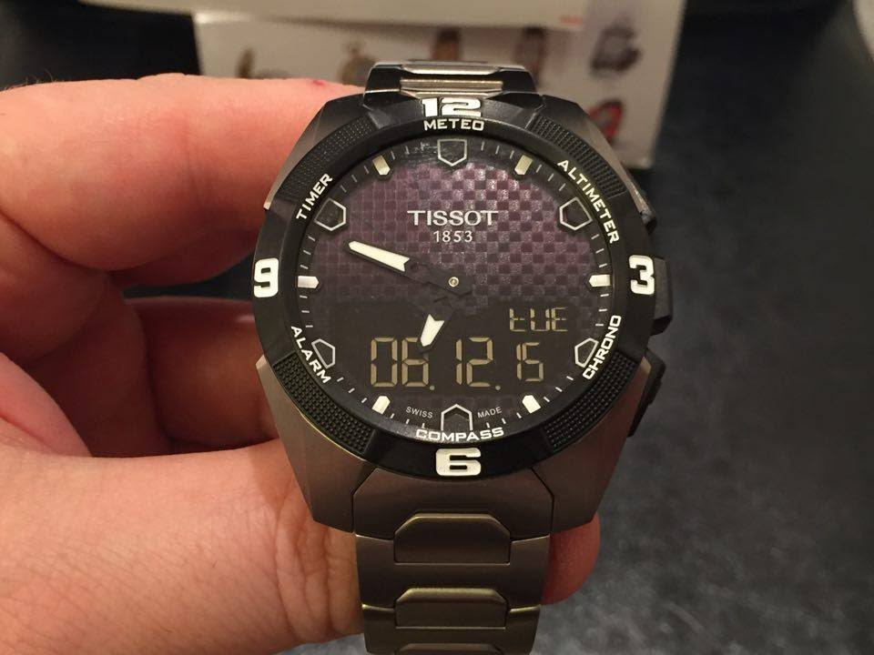 86f7730a10c TISSOT T-TOUCH EXPERT SOLAR WATCH REVIEW - YouTube
