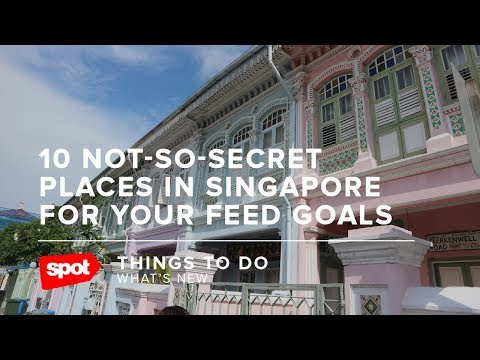 10 Not So Secret Places in Singapore for Your Feed Goals
