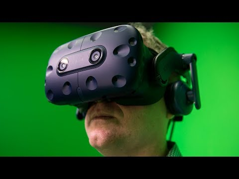 PROJECTIONS, Episode 37: HTC Vive Pro Hands-On Demo and Impressions!