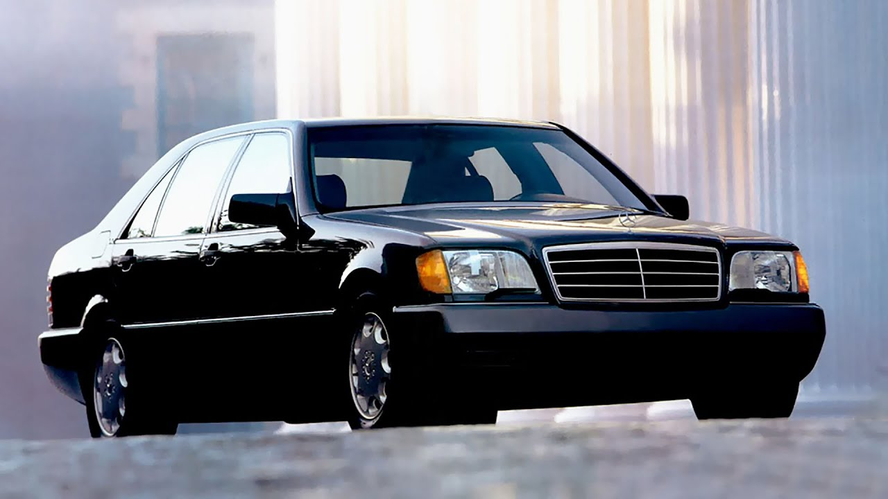 Mercedes W140 promotion video USA - YouTube