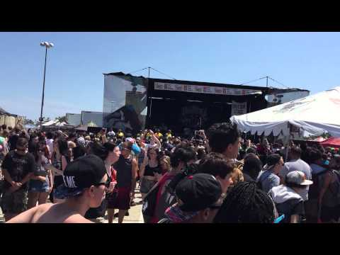 Miss May I - Our Kings With Circle Pit - Warped Tour 2015 ...