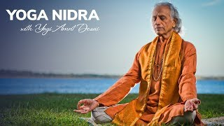Yoga Nidra led by Yogi Amrit Desai