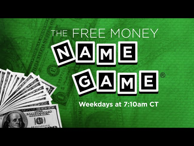 Free Money Name Game Twice A Day On The Kidd Kraddick Morning Show