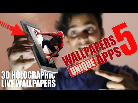 5 AMAZING Wallpaper Apps For Android 2019 | Customize Your Smartphone 18:9 Display Or Notch Phones