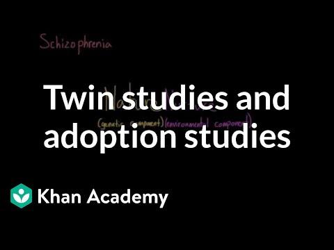 Twin Studies And Adoption Studies | Behavior | MCAT | Khan Academy