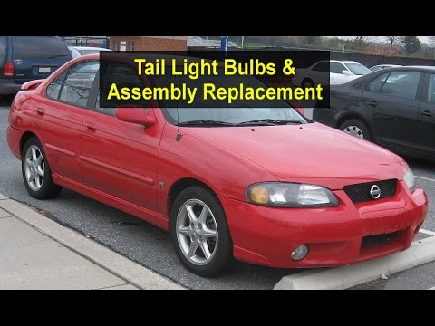 How To Replace Tail Light Bulbs And Assembly For Nissan Sentra Or Sunny Votd Youtube