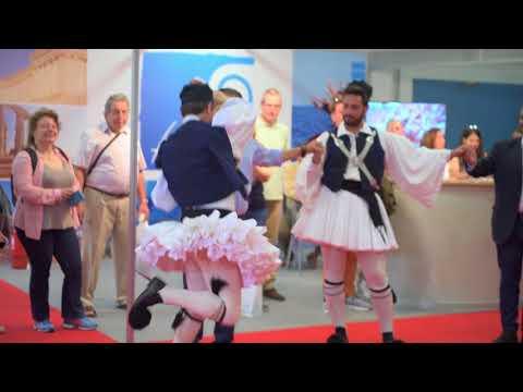 Folk Dances @ Greek Travel Show 2018