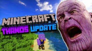 Minecraft New Thanos update is CRAZY