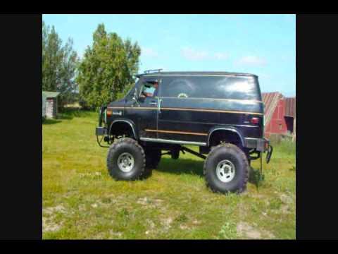 Monster Trucks For Sale >> AWESOME MONSTER TRUCK VAN ON EBAY - YouTube