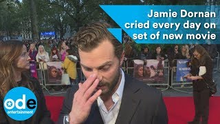 Jamie Dornan cried every day on set of A Private War