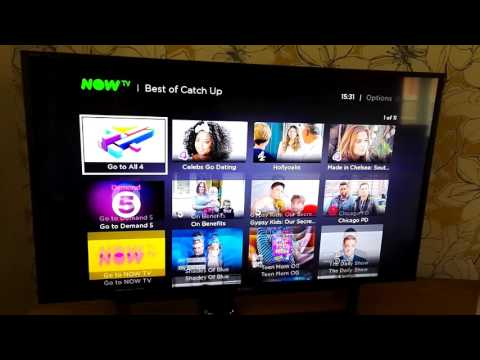 How to Set Up Now TV Box