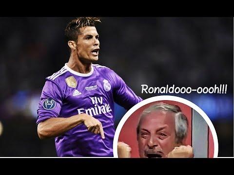 7 Cristiano Ronaldo GOALS That Made Commentators go CRAZY Part #1 HD 2017