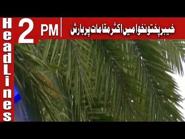 HEADLINE 2  PM | 24 April 2019 | CHANNEL FIVE Pakistan