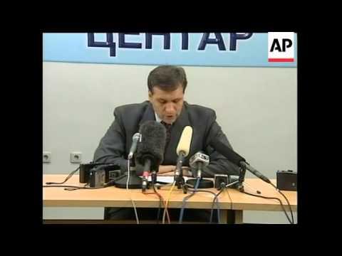 Macedonia: Threat: President threatens ethnic Albanian rebels