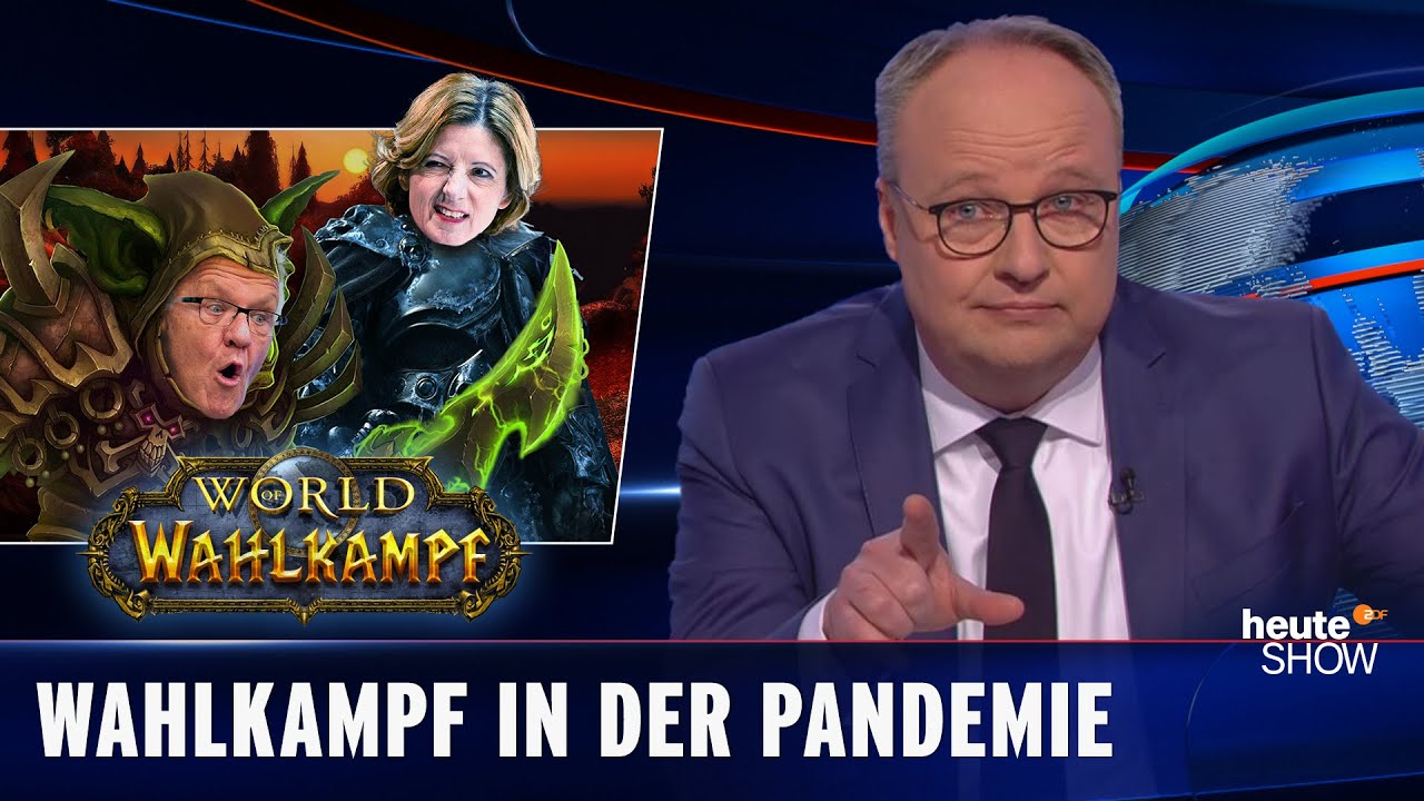 Digitaler Wahlkampf: Tiktok-Nachhilfe für die Politik   heute-show vom 26.02.2021