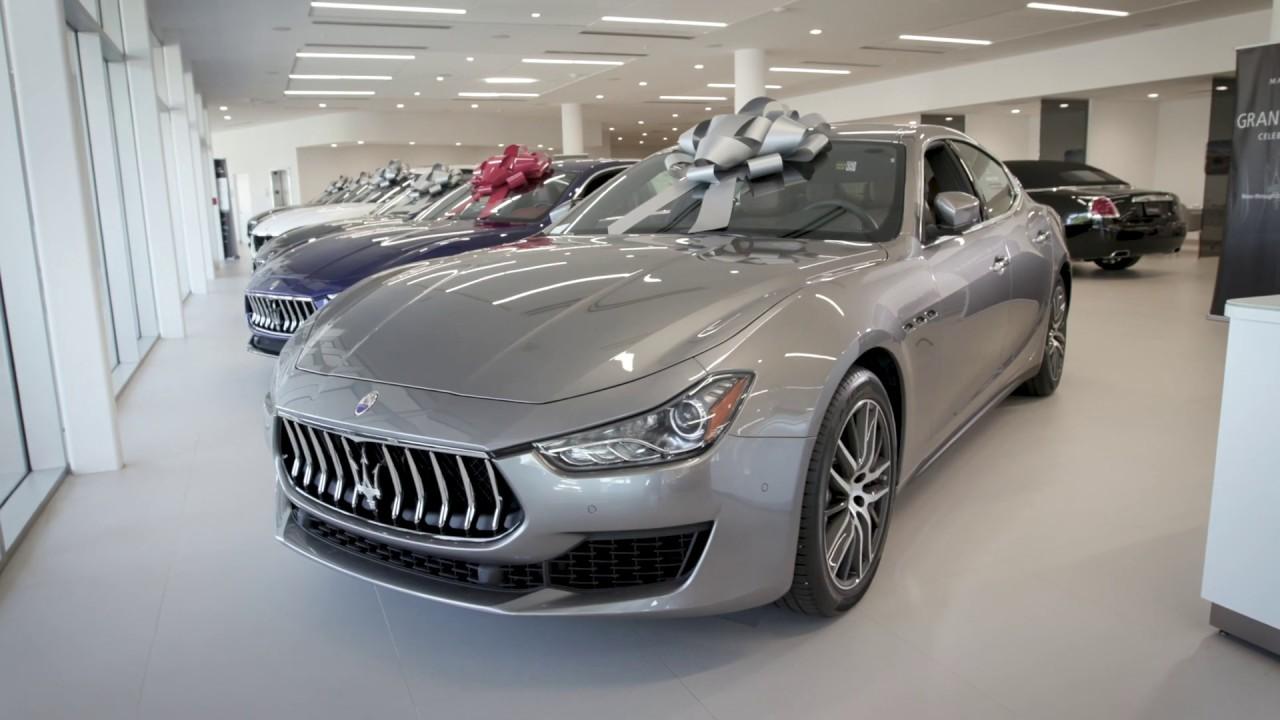 2019 Maserati Ghibli Showroom Teaser