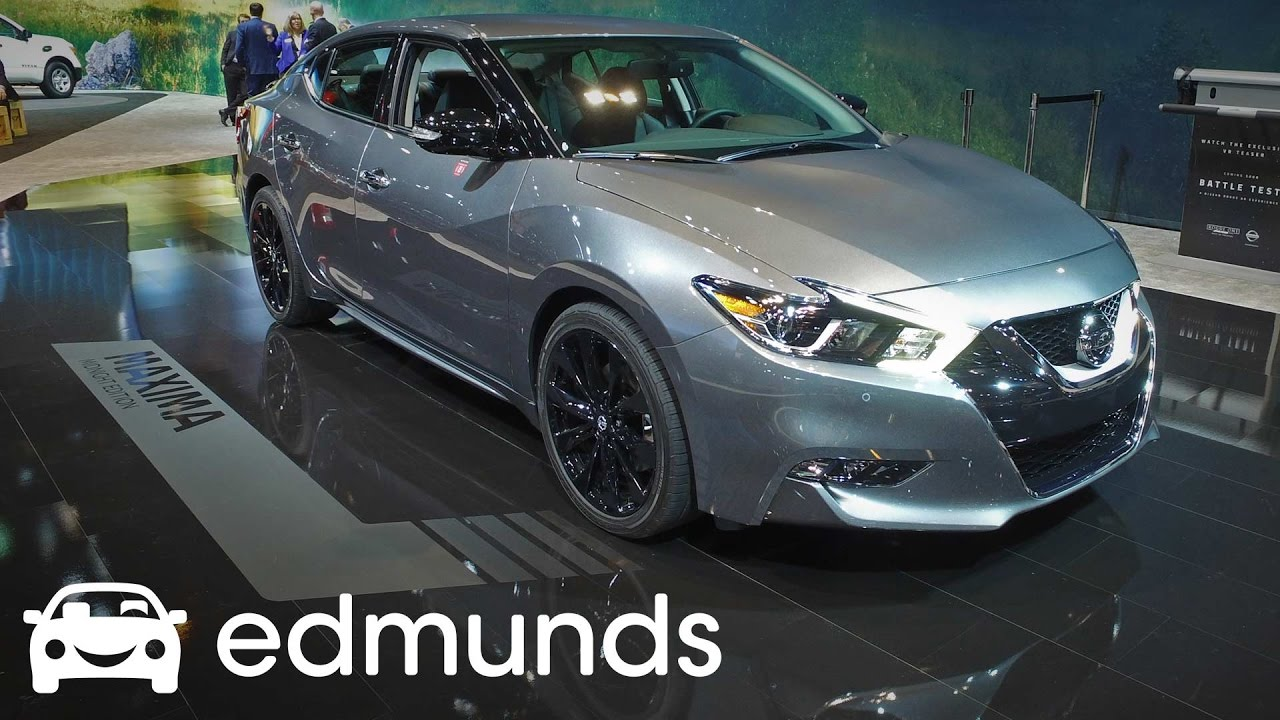 2017 Nissan Maxima Review Features Rundown Edmunds