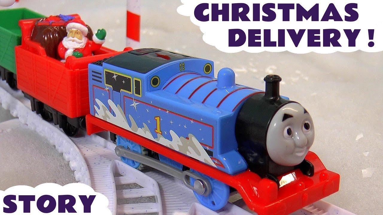 Thomas The Train Christmas Tree.Thomas Friends Toy Trains Holiday Santa Jingle Bells Story Christmas Tree Playset Toytrains4u
