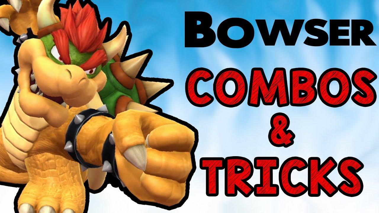 Bowser Combos & Tricks! (Smash Wii U/3DS)