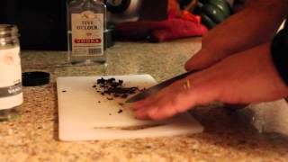 How to prepare vanilla beans for homebrew in primary fermenter