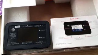 Netgear Unite Explore 4G LTE WiFi Rugged Hotspot Unboxing 5-9-16