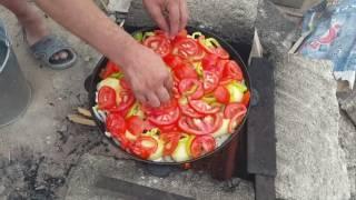 Узбекский кухня димлама повор из термеза