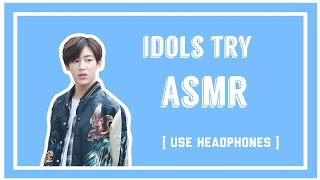 Download Kpop Idols try ASMR compilation [USE HEADPHONES] Mp3