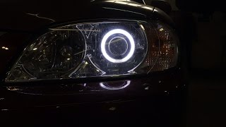 Kia Spectra линзы Morimoto mini H1 установка билинз.(, 2014-10-15T20:00:53.000Z)