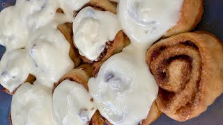 Cinnamon Rolls in Minutes with the Best Frosting Ever - Episode 526 - Baking with Eda
