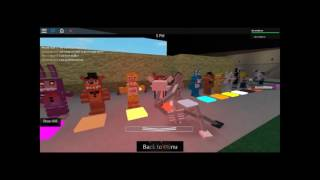 Roblox RP-Fazblox Generations-MANGLE/FOXY | BB/TOY CHICA