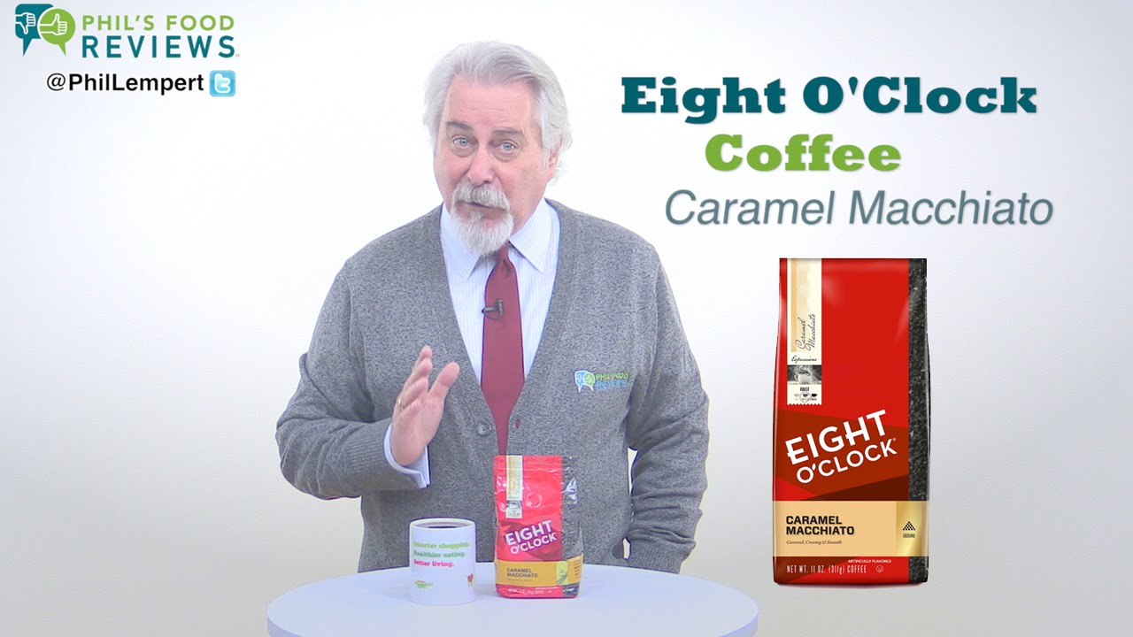 Eight O Clock Coffee Caramel Macchiato 1 22 Youtube