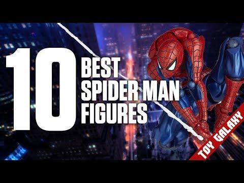 Top 10 Best Spider Man Action Figures | List Show #37