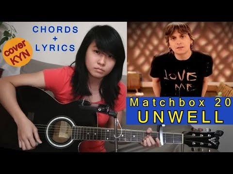 Matchbox 20 Unwell Acoustic Cover Kyn Chords Lyrics Youtube